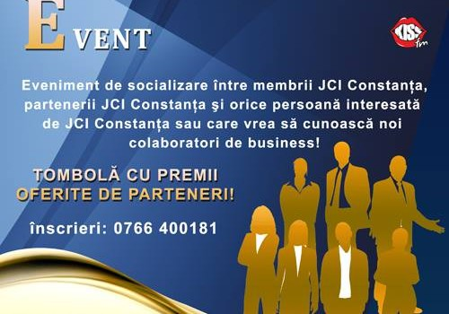 business networking event by JCI Constanta