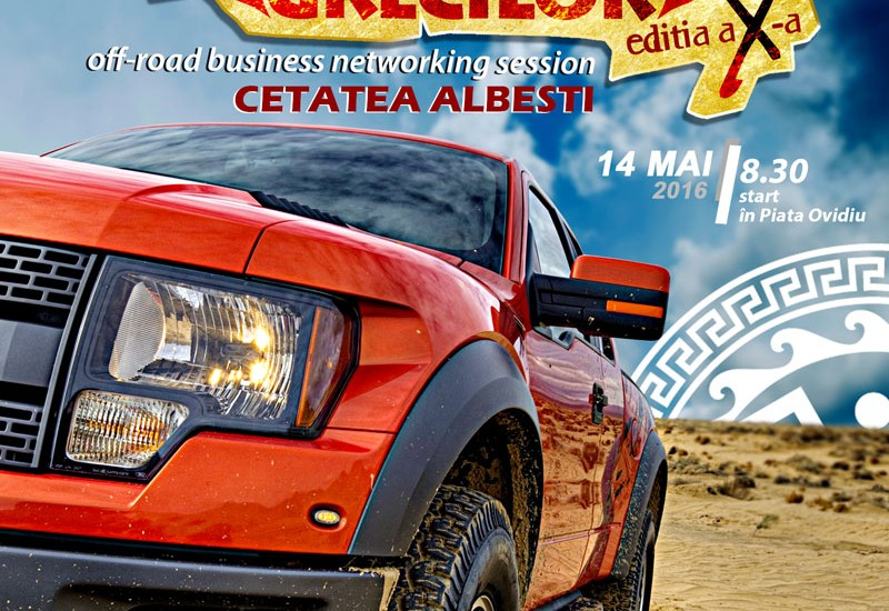 JCI PLAY 4x4 - Editia a 10-a - Pe urmele grecilor - Cetatea Albesti - off-road business networking session by JCI ConstantaJCI Constanta