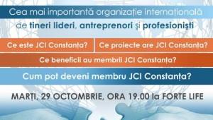 JCI Constanta - eveniment de prezentare