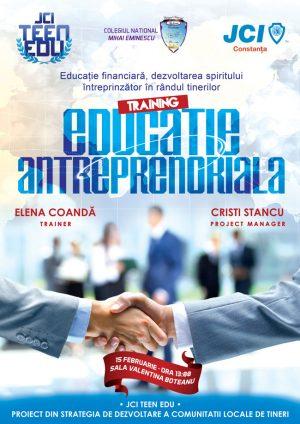 Educatie Antreprenoriala - TeenEdu - JCI Constanta